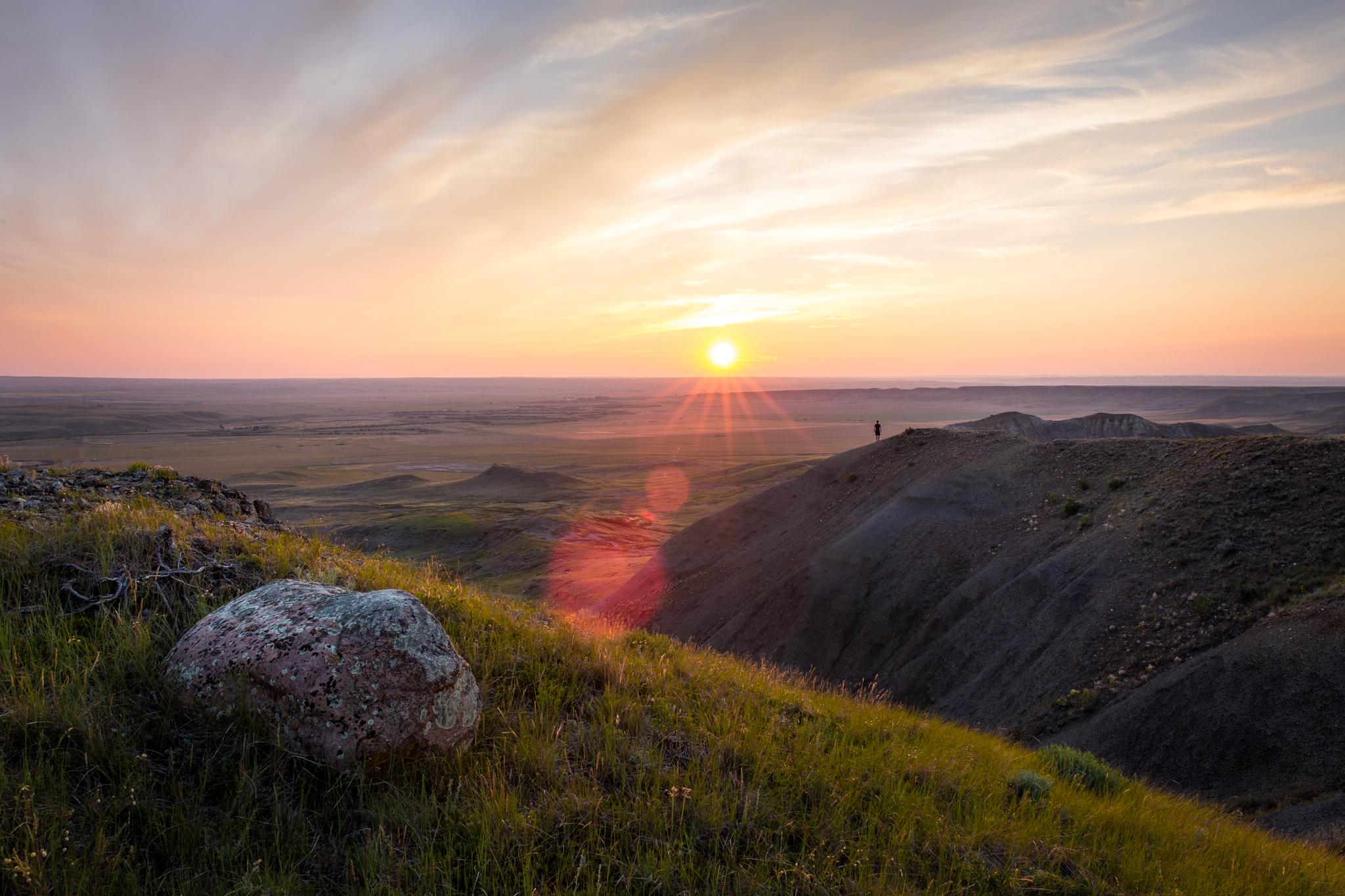 Grassland National Park. 70 Mile Butte trail.