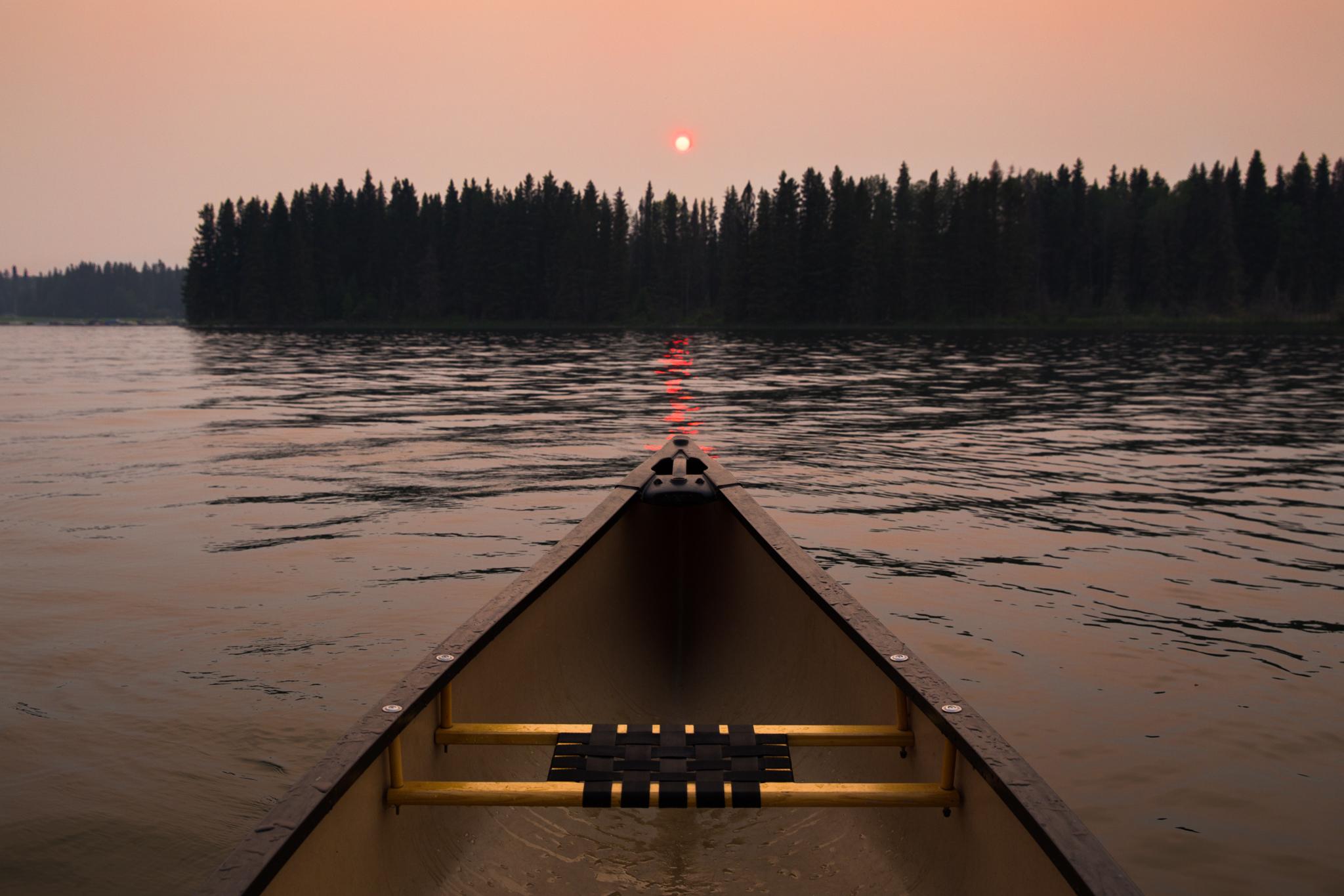 Canoe Waskesiu