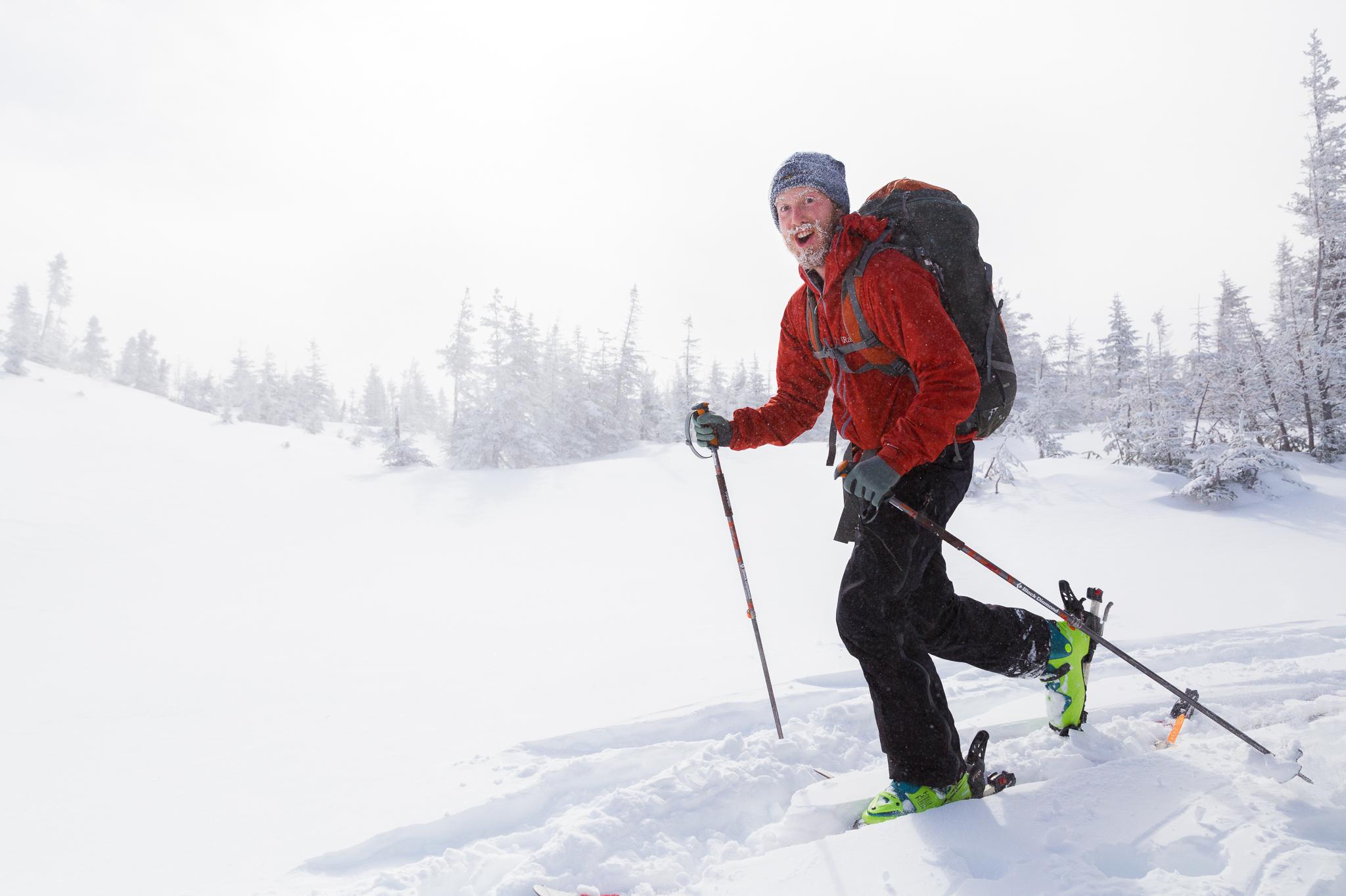 Ski Touring Chic Choc Mountains Quebec Maritime