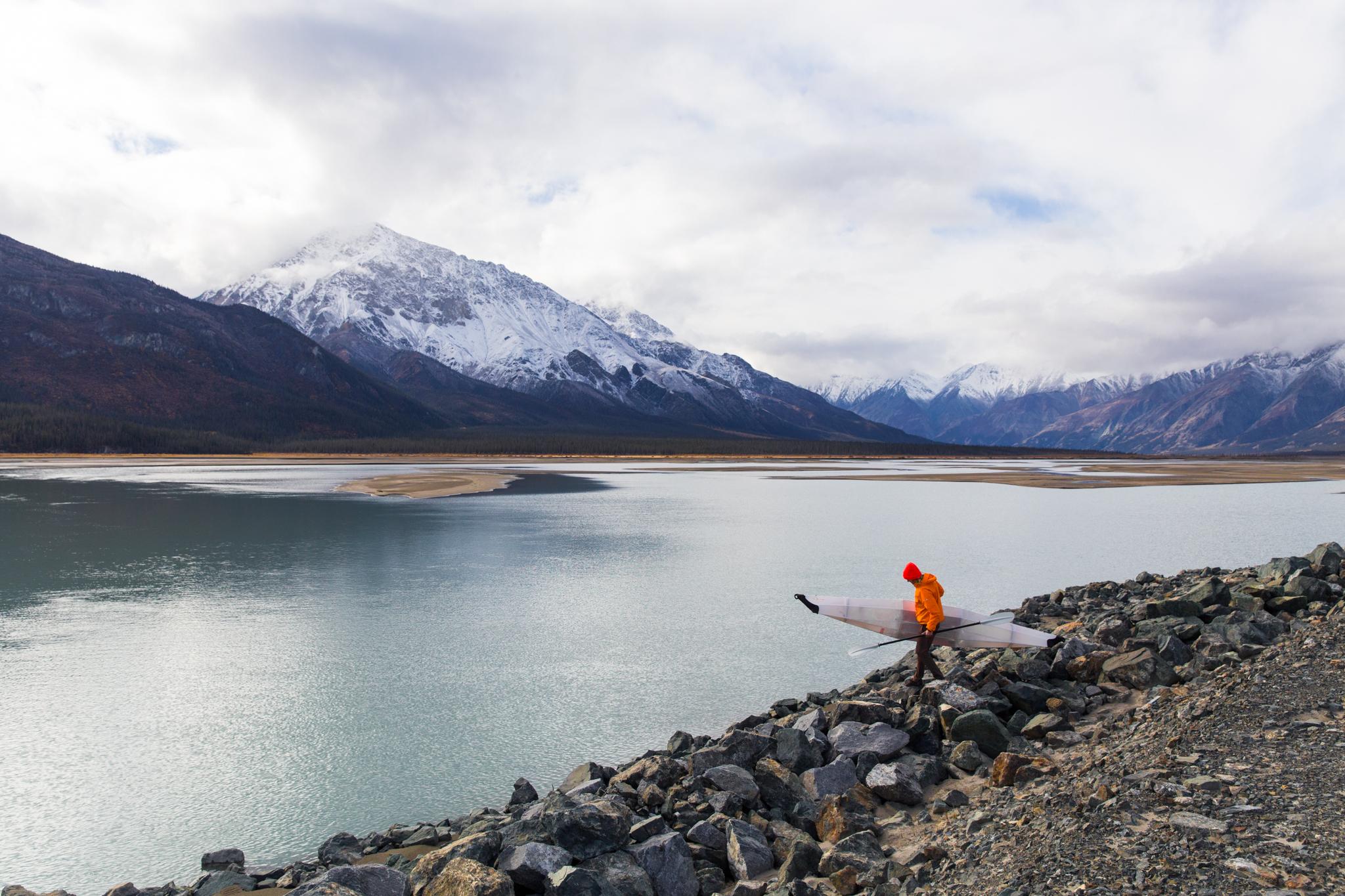 Stepping down -  Kluane National Park, Yukon.jpg