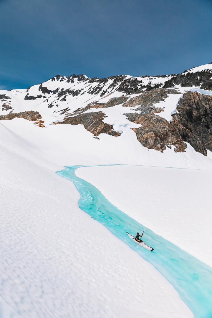 Glacier Kayaking BC Taylor Burk