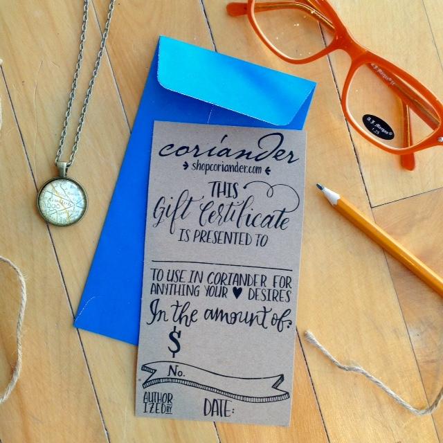 Coriander Gift Certificate.jpg