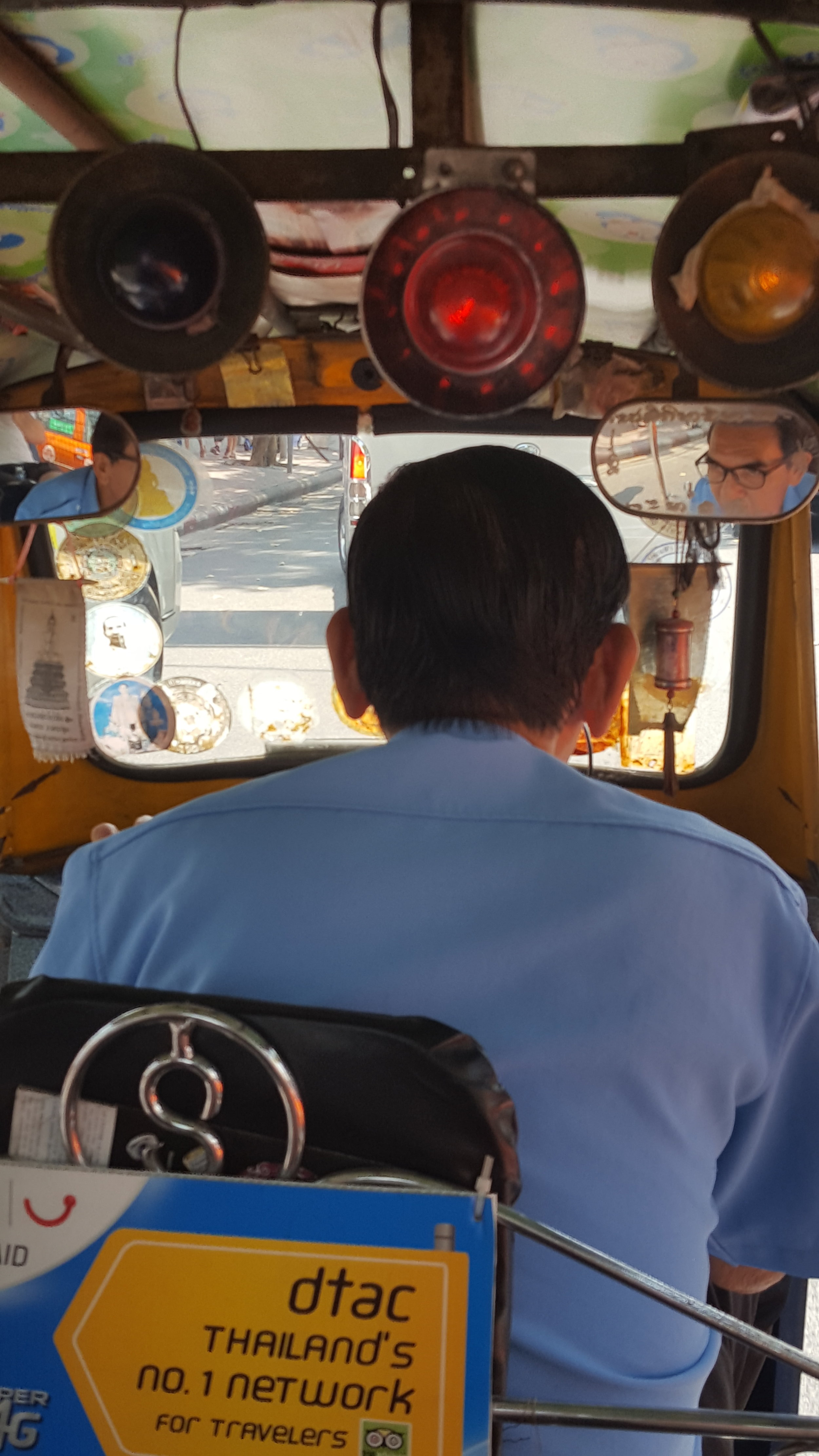 the tuk tuk experience(s) were something else... imagine weaving in and out of traffic with pizza delivery boys on scooters whizzing past you within centimetres...