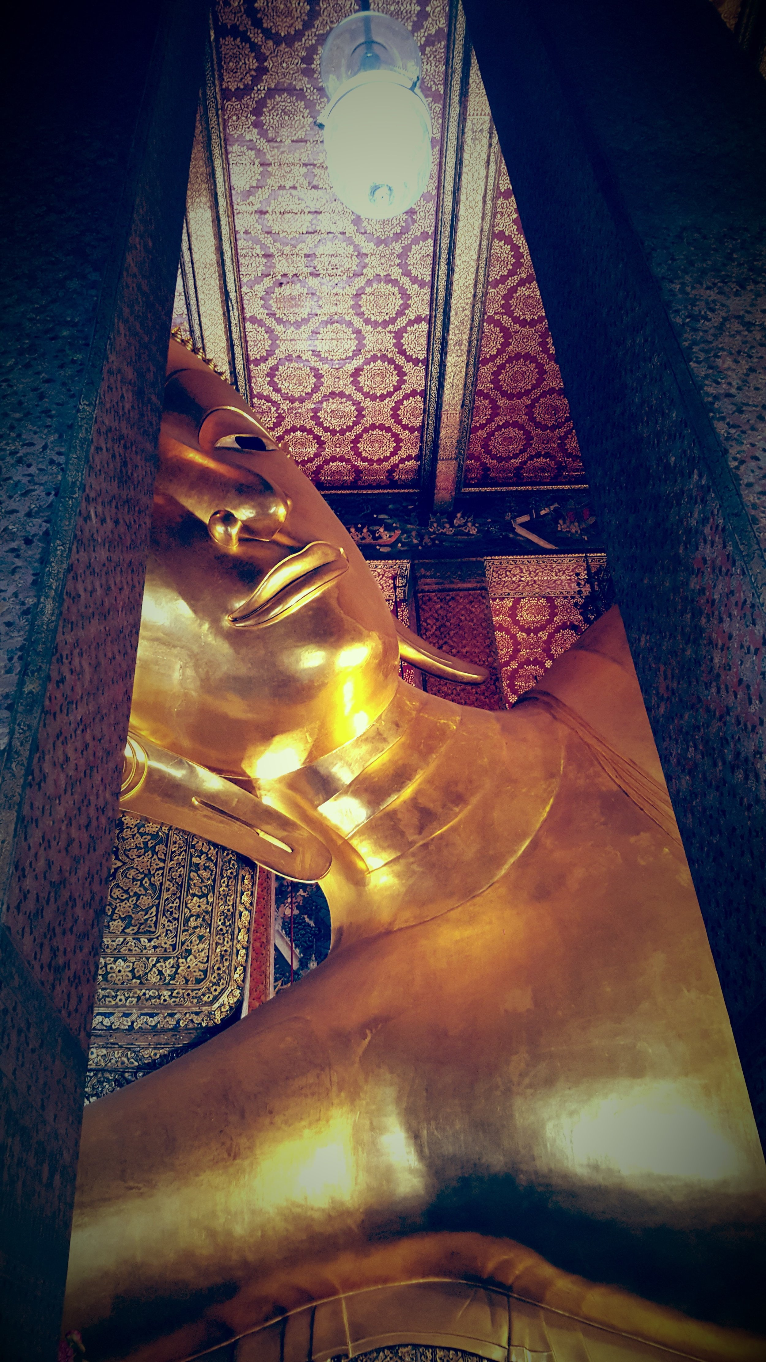 The Temple of The Reclining Buddha in Bangkok,  Wat Pho