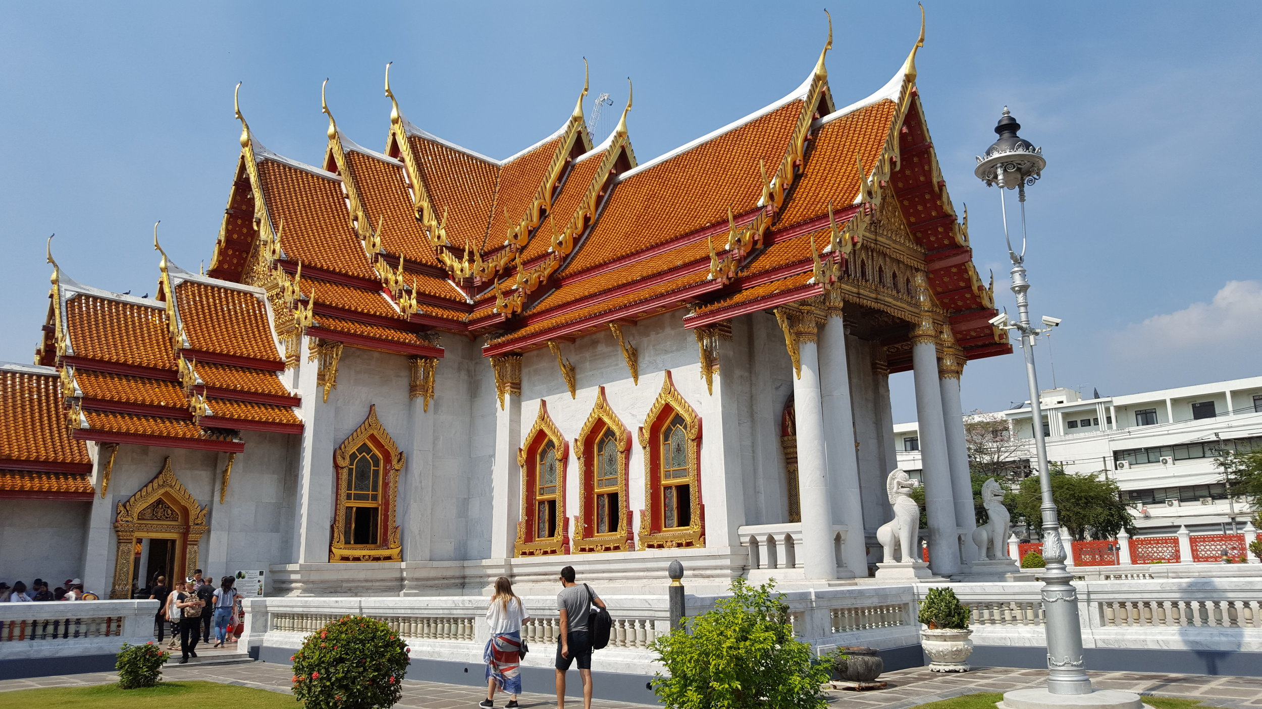Wat Benchamabophit (aka The Marble Temple) in Bangkok