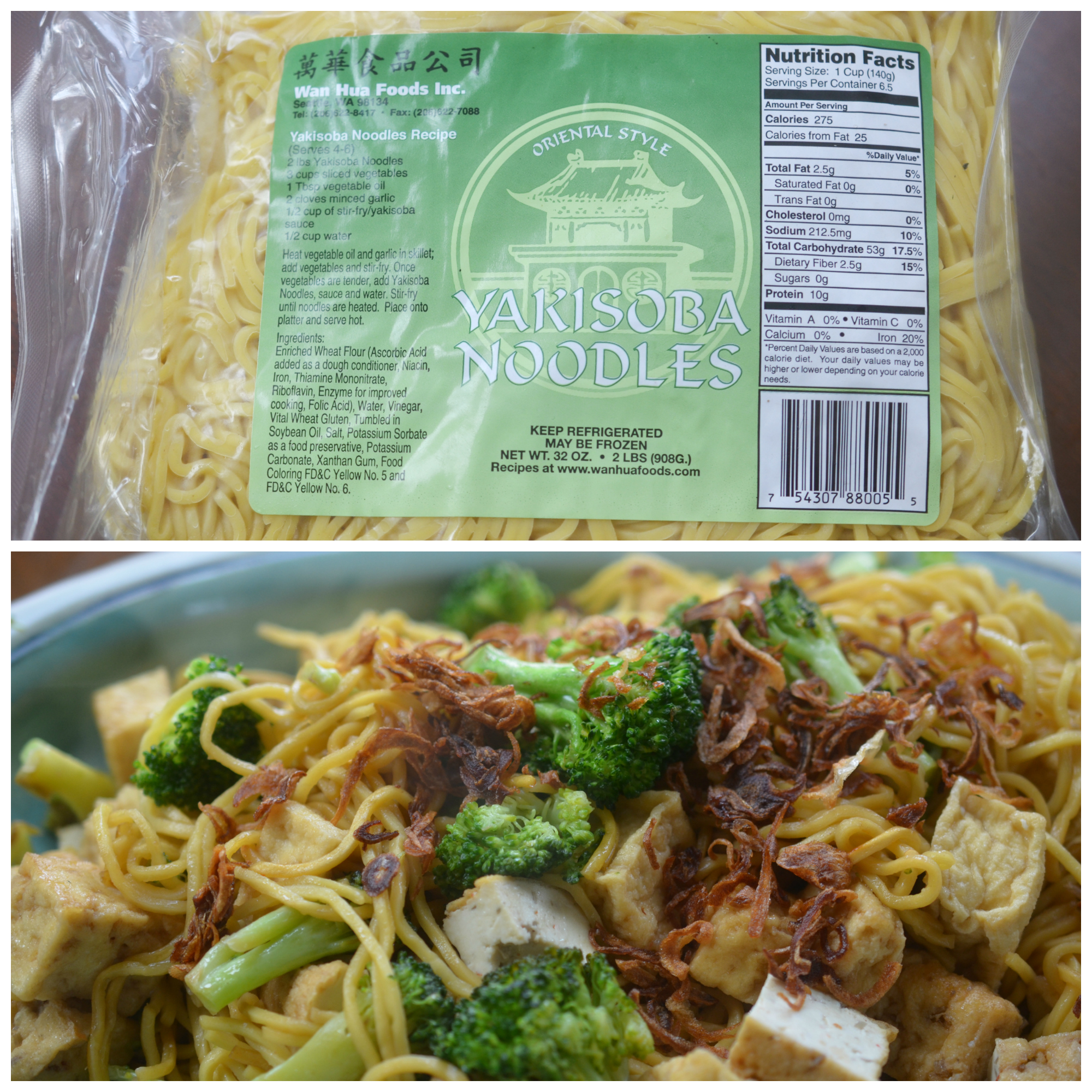 Pre-cooked yakisoba noodles - just add to your pan and toss!