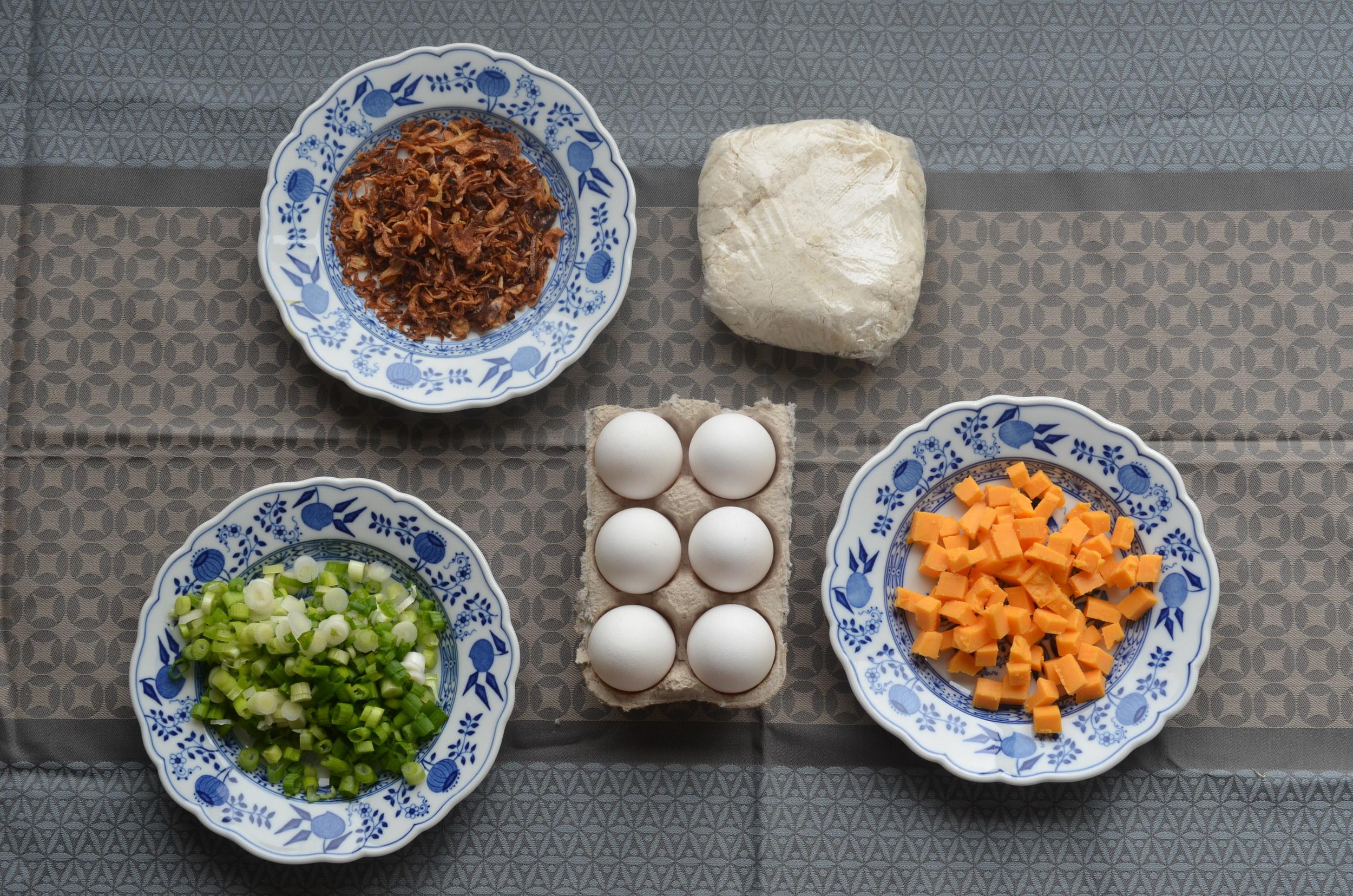 shallot quiche ingredients