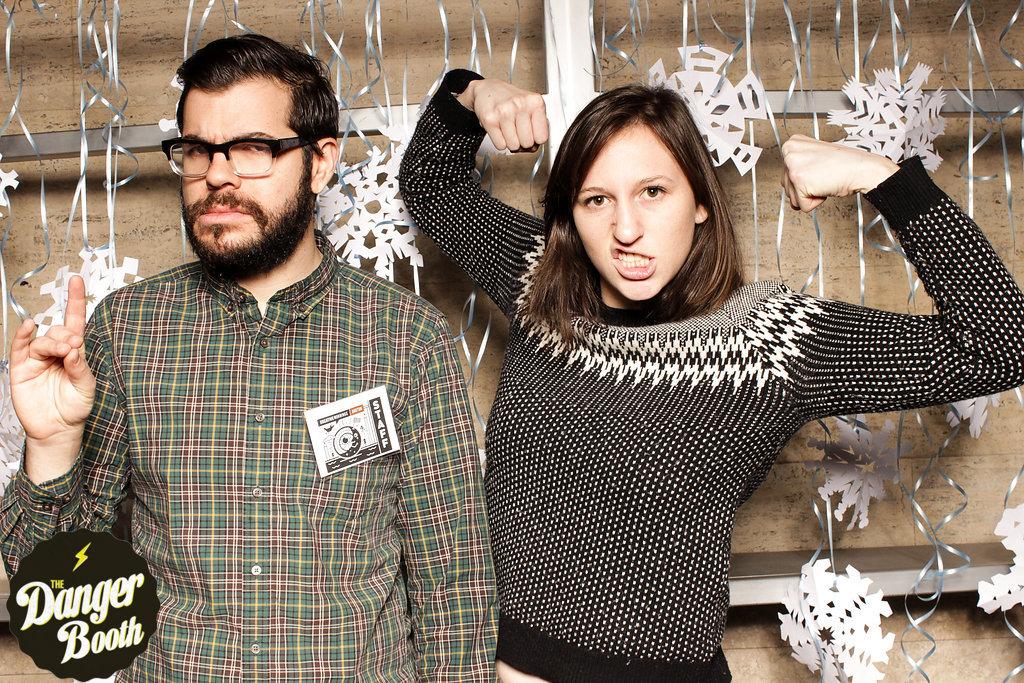 Creative Mornings Boston | The Danger Booth | Boston Photo Booth