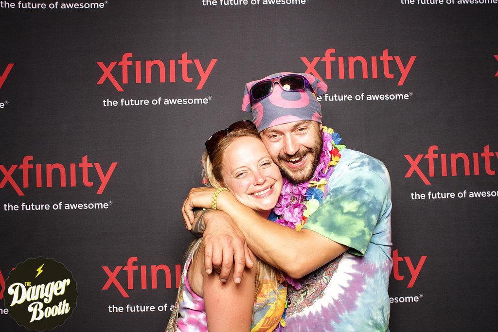 Photo Booth Rental Boston | Xfinity | Dave Matthews Band | The Danger Booth