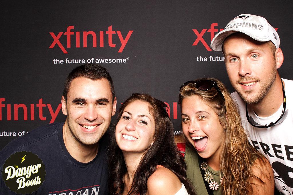 Photo Booth Rental Boston | Darius Rucker | XFINITY ZONE | The Danger Booth