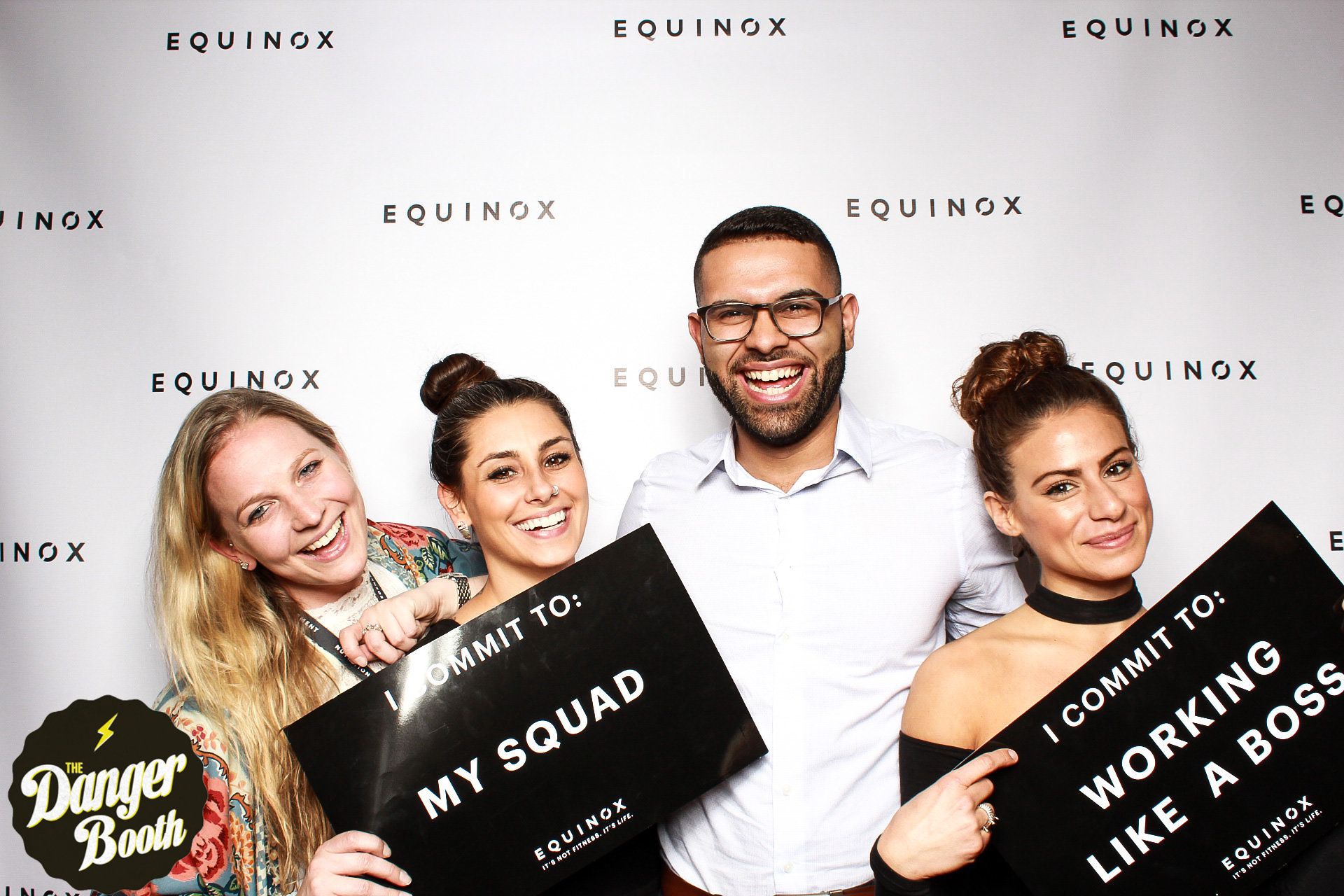 Equinox Chestnut Hill 3 Year Anniversary Party   Photo Booth