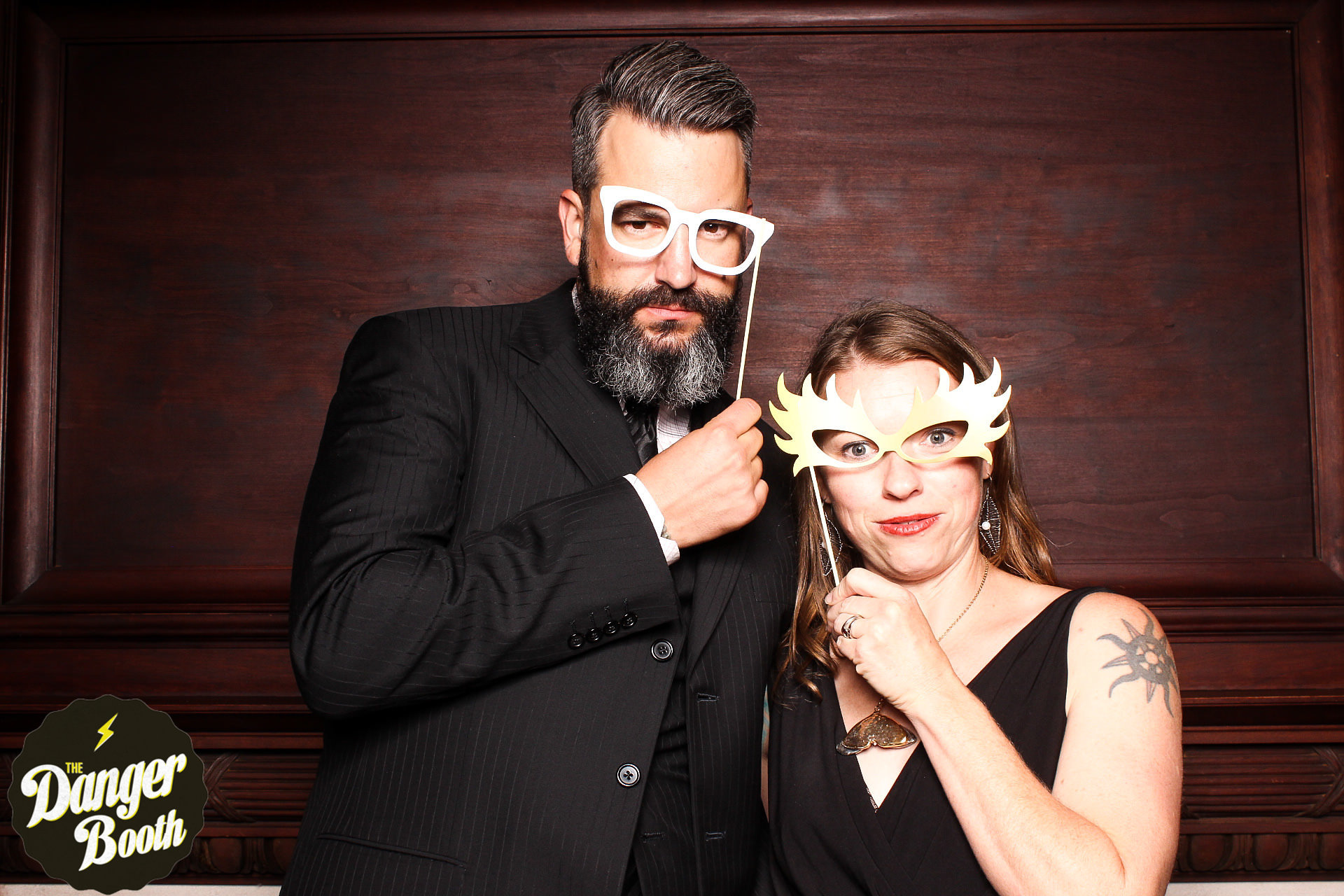 Wedding photo booth | The Danger Booth | Best Photo Booth Boston