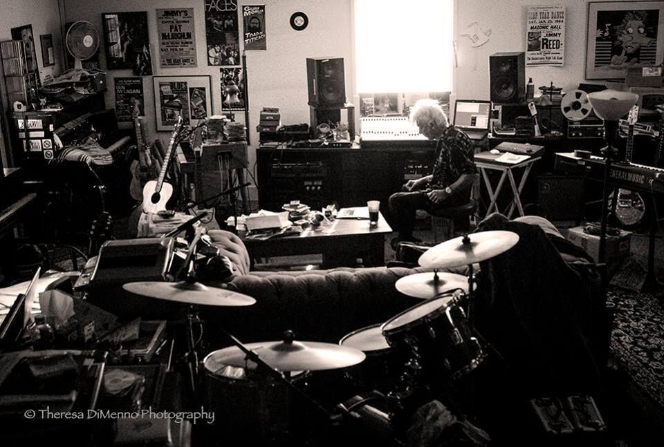 I love this photo of Mac in his studio