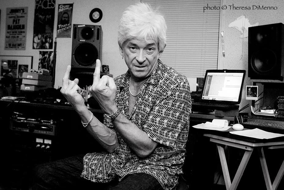Mac in his studio