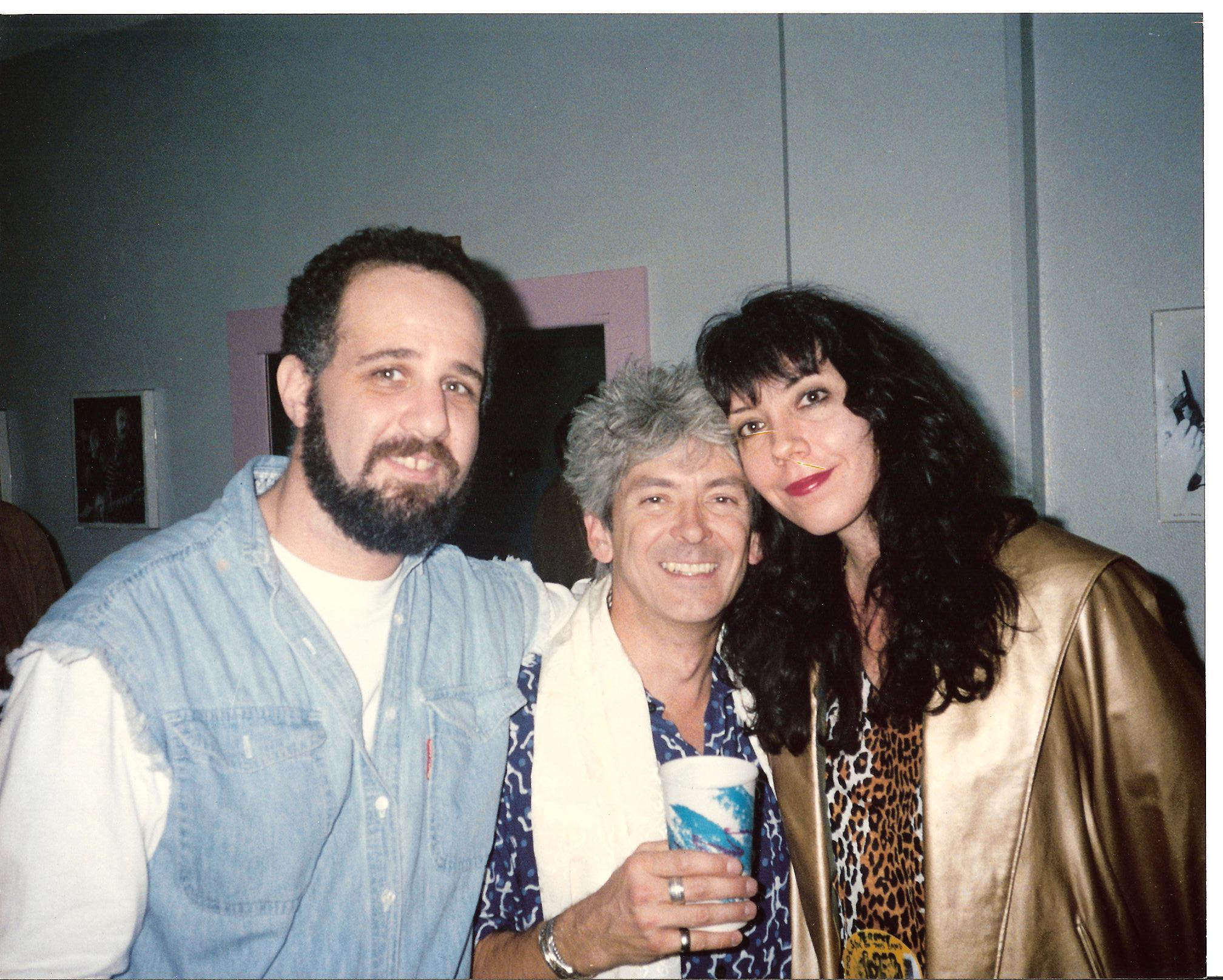 Jody Denberg, Ian 'Mac' McLagan and I.