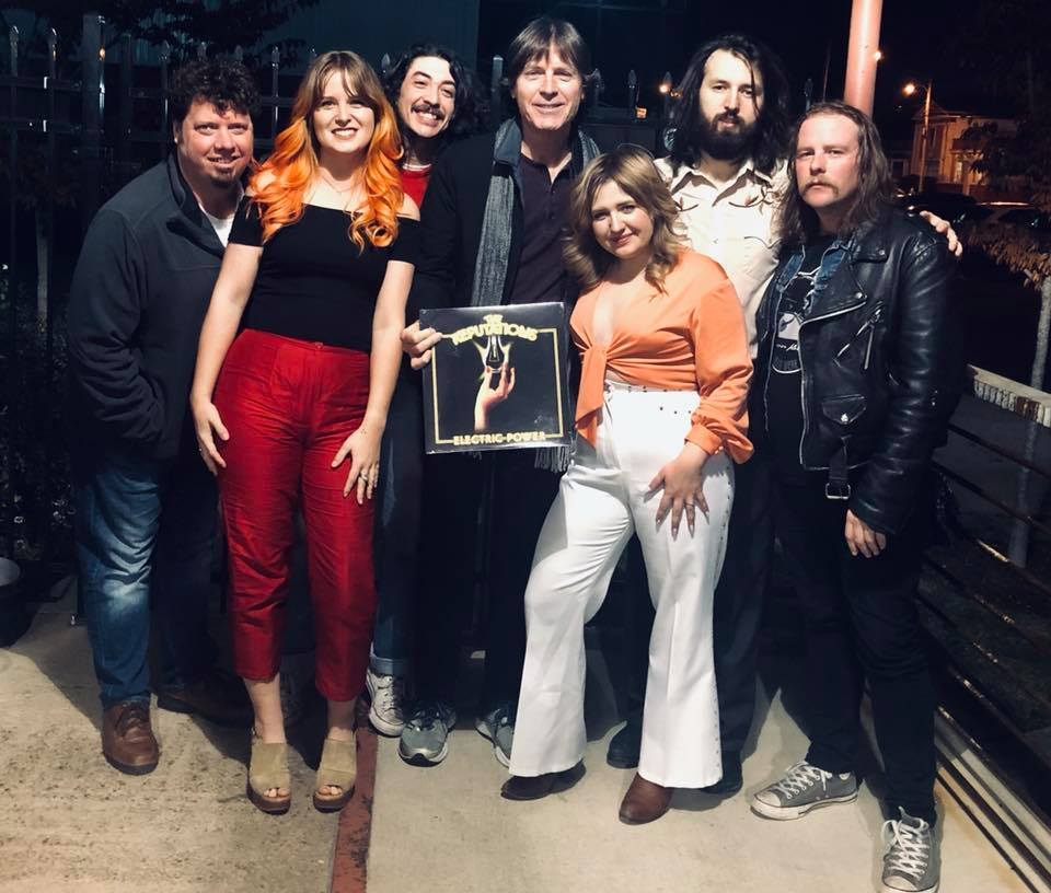 The Reputations with Jody Stephens in Memphis, November 2018 Click  here  to download hi-res version