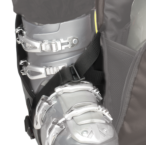 Delta Strap System™ Easily and securely holds boots.
