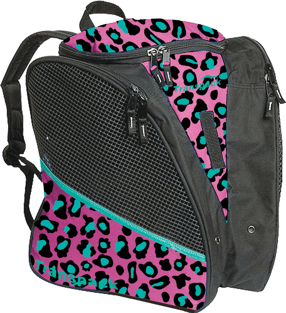 Pink/Teal Leopard  Style: 6682-63