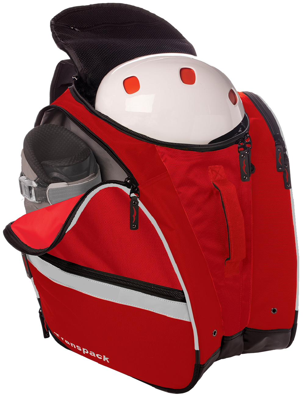 Store helmet, goggles & gear inside