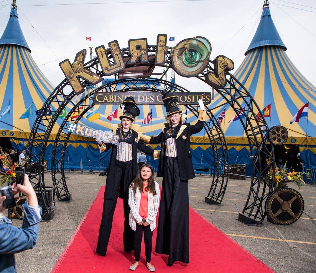 Inspectors - Cirque du Soliel, Kurios Opening Ceremonies In collaboration with Firefly Circus