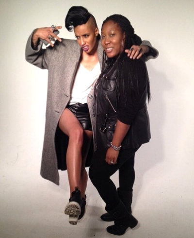 Wrapping up an amazing shoot with ANTN Azmarie