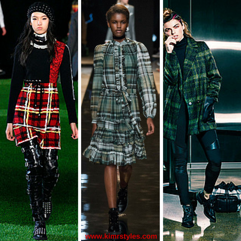 A/W Plaid Fall Trend 2015