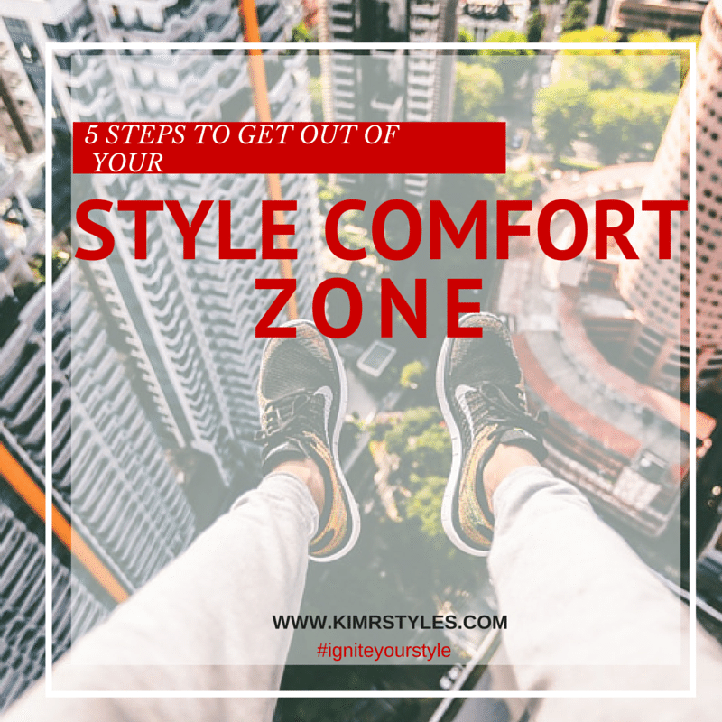 5 Steps to Get Out of Your Style Comfort Zone