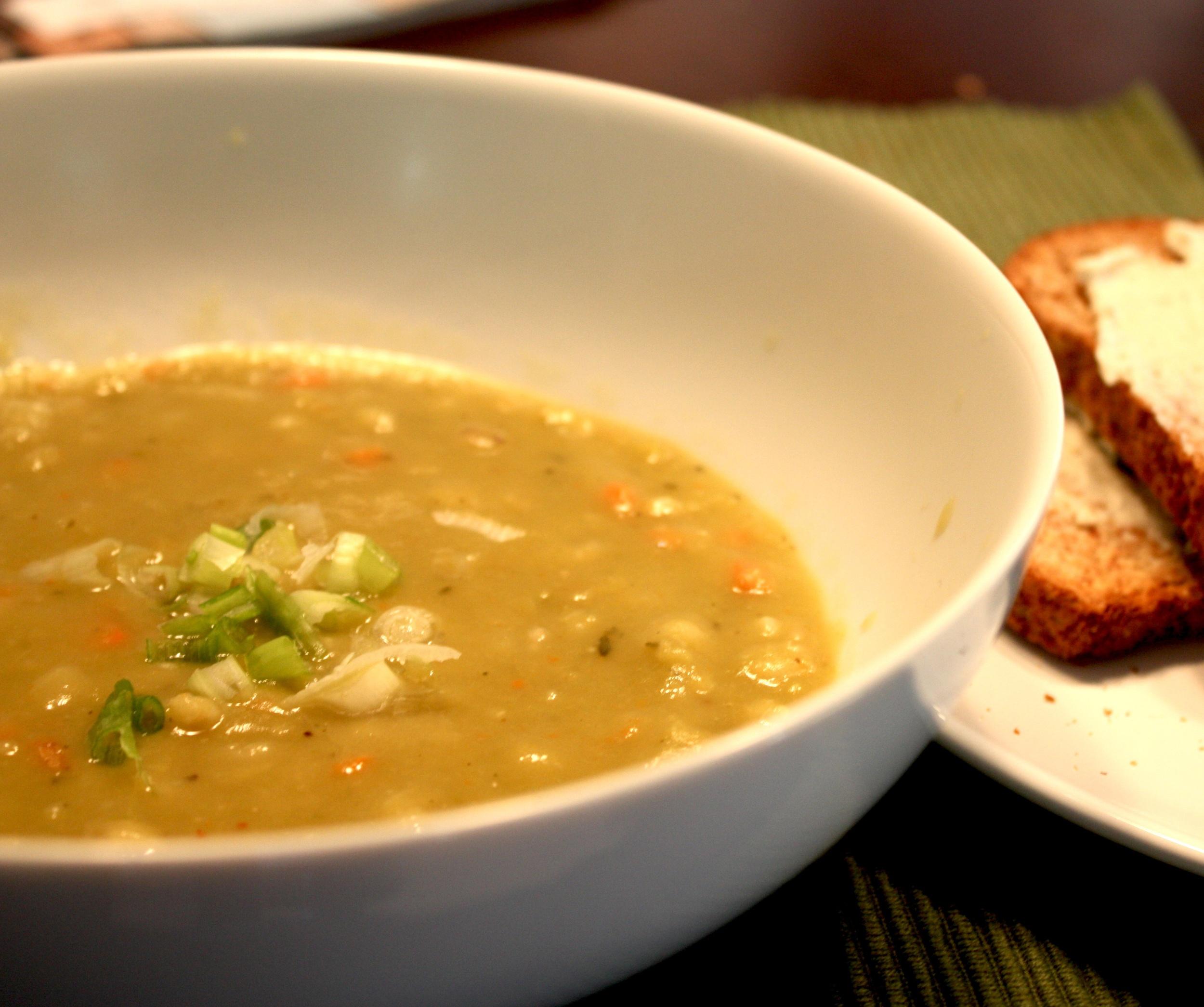 Split Pea Soup: $10/qt