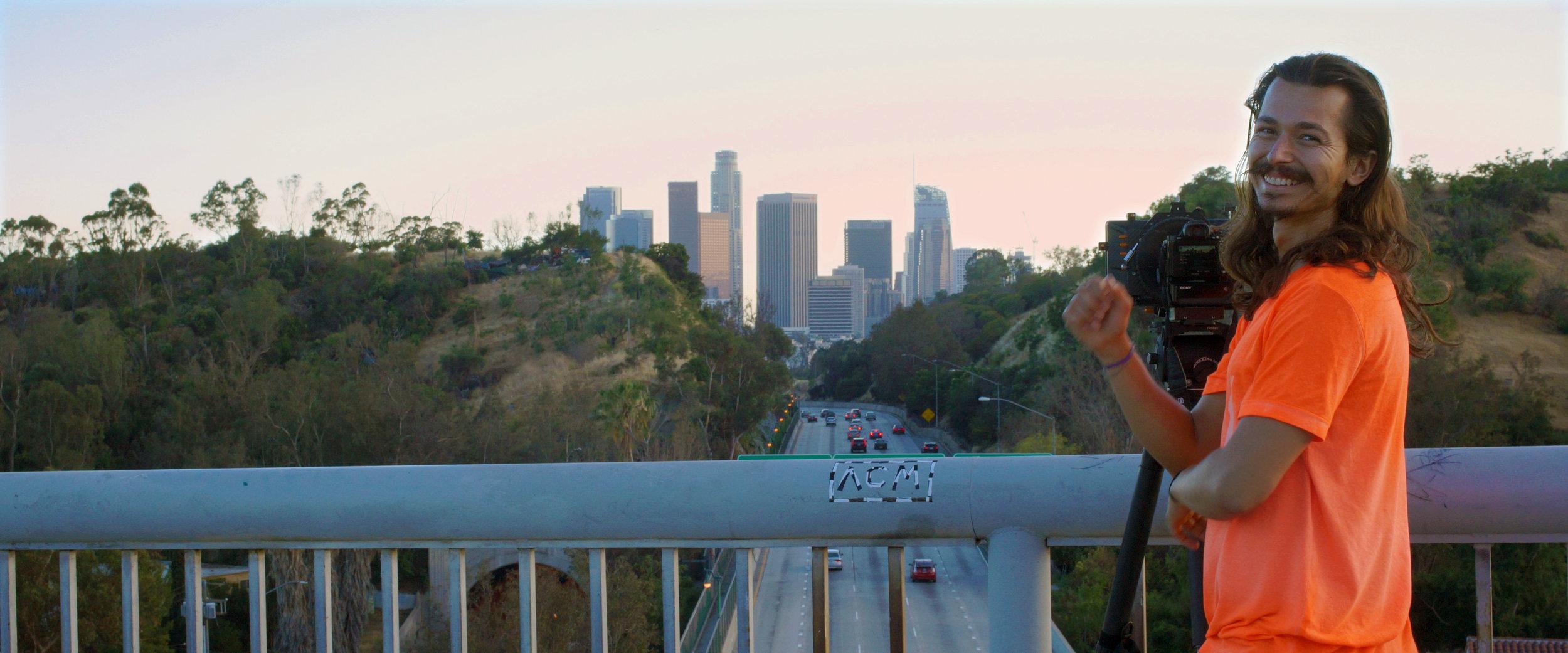 Leo LA Freeway BTS.jpg