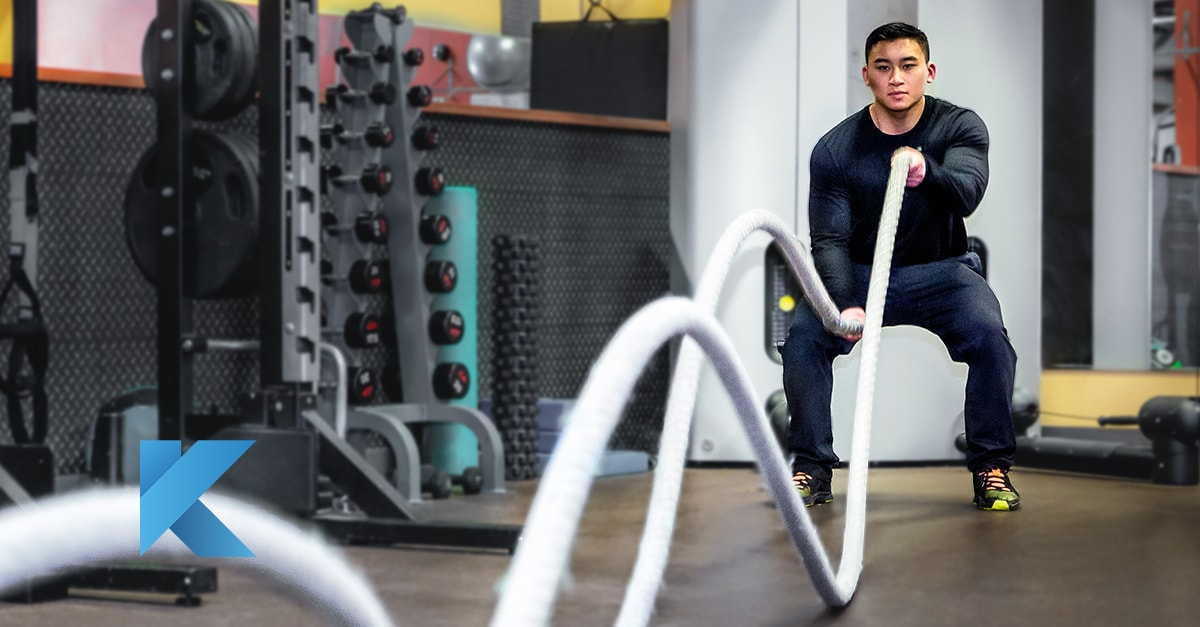 TechnoGym equipment used by the Olympics