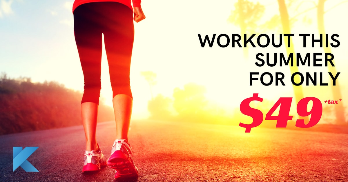 SUMMER GYM WORKOUT FOR ONLY$49