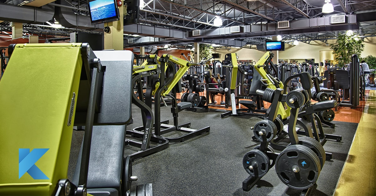 technogym top of the line workout equipment