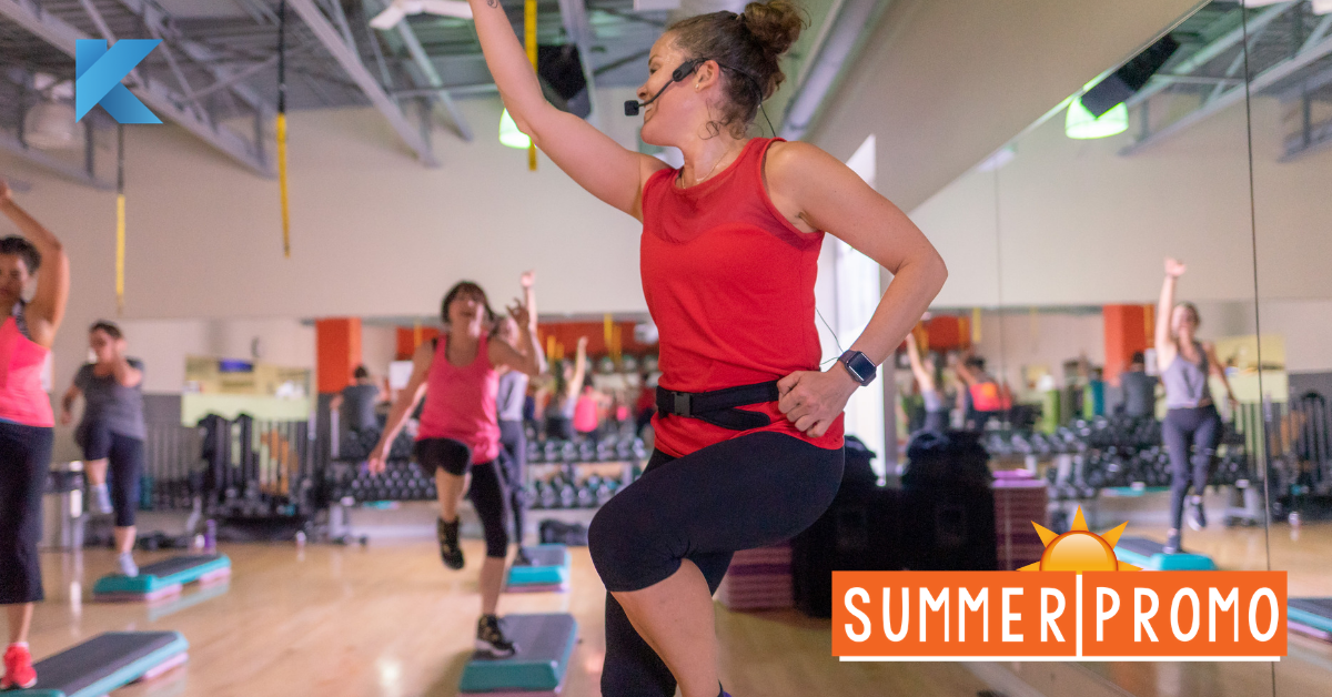 3 month memberships on sale now! Get into shape at Klub 20 all summer long for a reduced price!