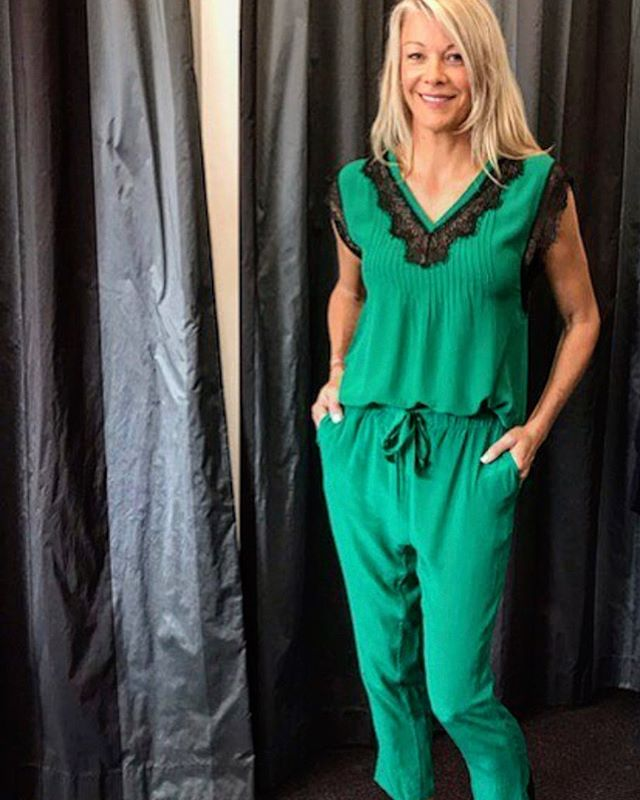 Green with Envy.  @chokolatboutique  #silk #wardrobe #classic #lace #justaddleather #dinneranddrinks