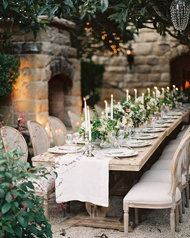 Inspired by Nature 🍃🍽🍃 #TheNewModernBride