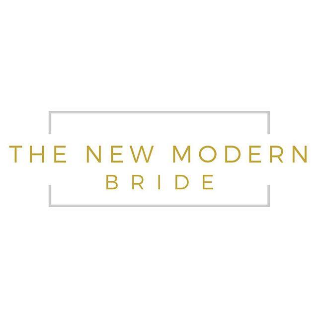MEET OUR NEW LOGO #TheNewModernBride 💫