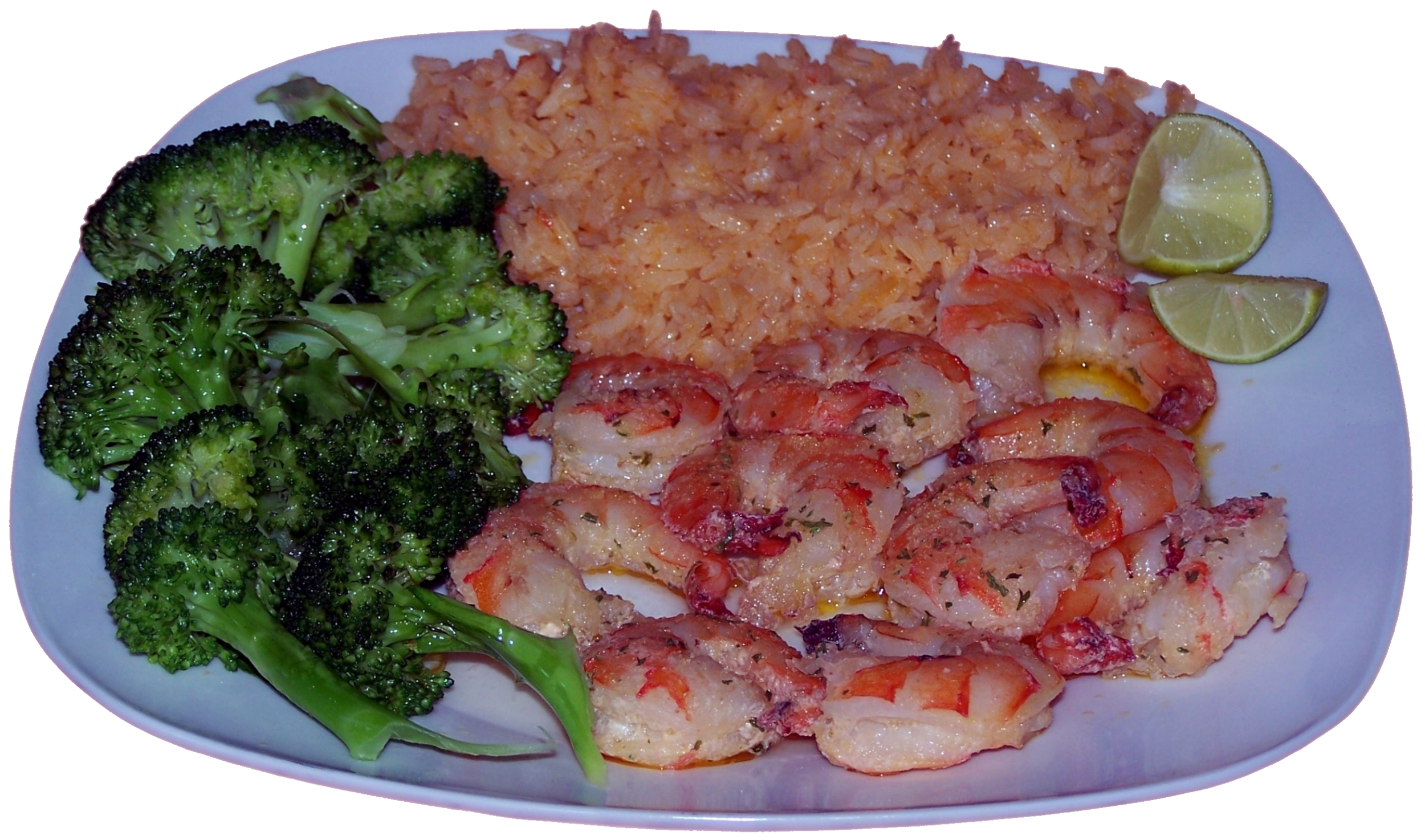 Garlic Shrimp  Shrimp sauteed in butter with hints of garlic and parsley. $18.99