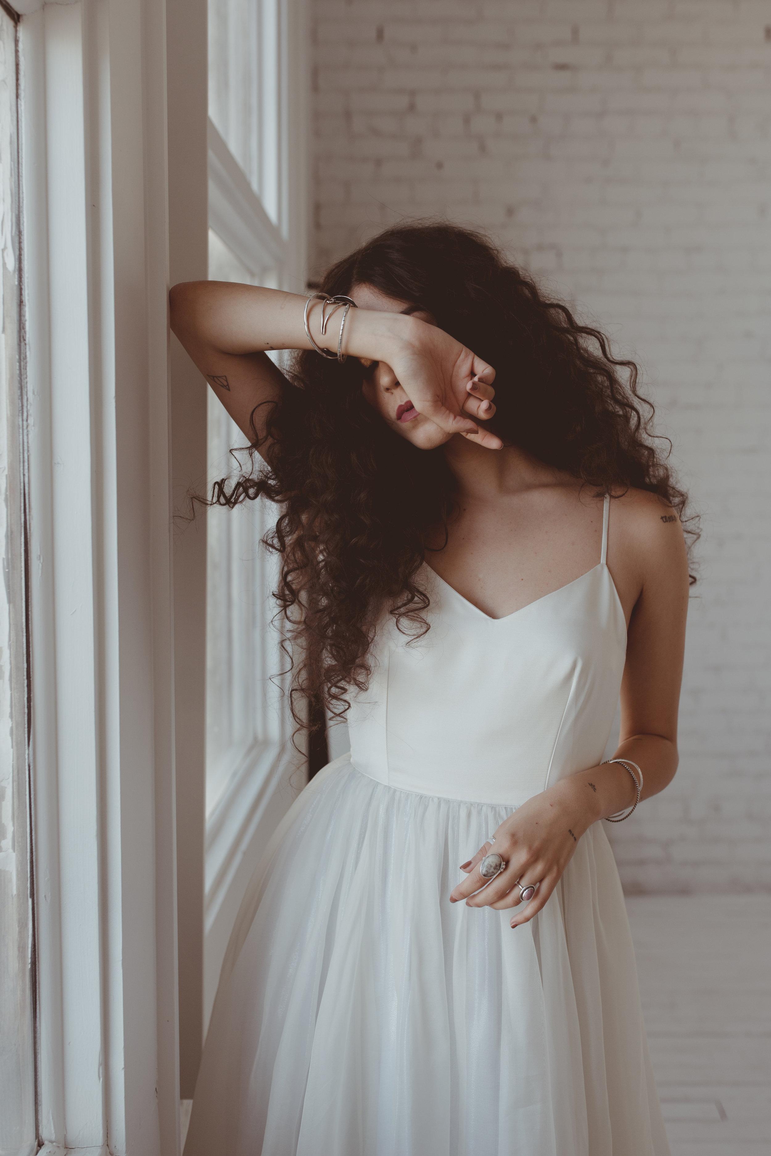 Wedding Dress Chantel Lauren Parton Silver