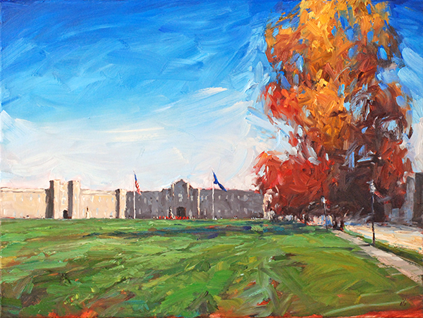 AutumnattheBarracks_18x24oil_AmyHRDonahue.jpg