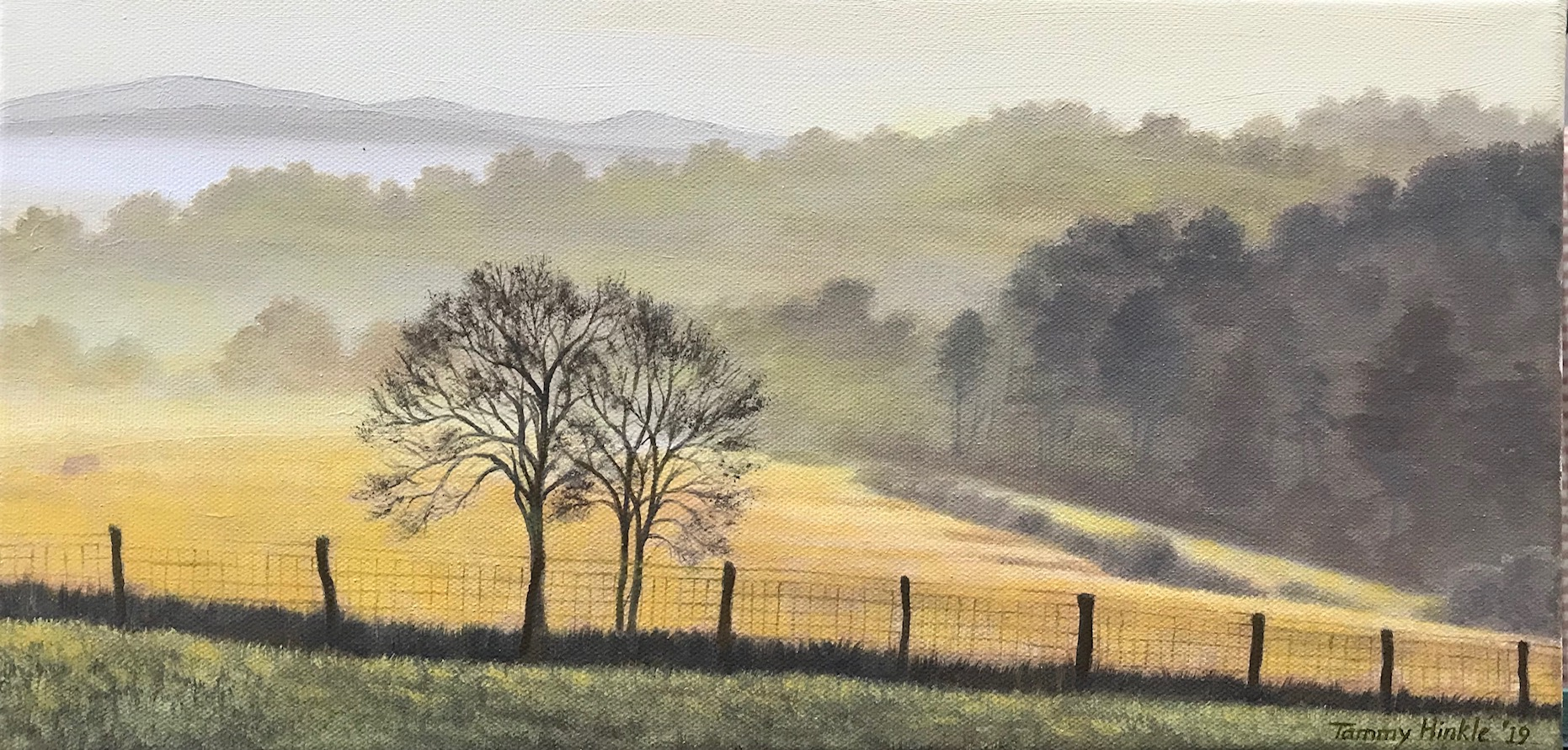 Autumn Morning - Tammy Hinkle