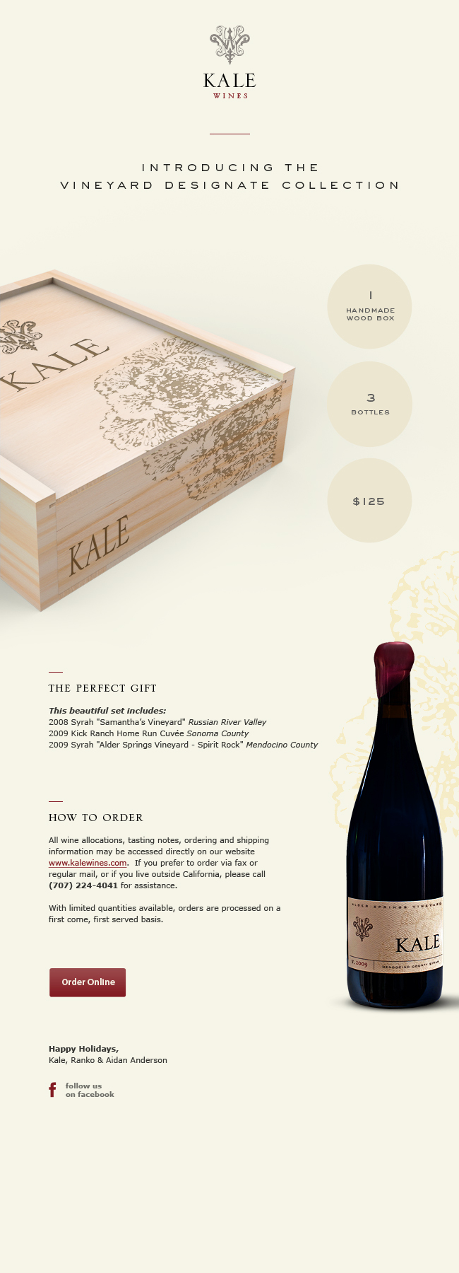 Vineyard Designate Collection