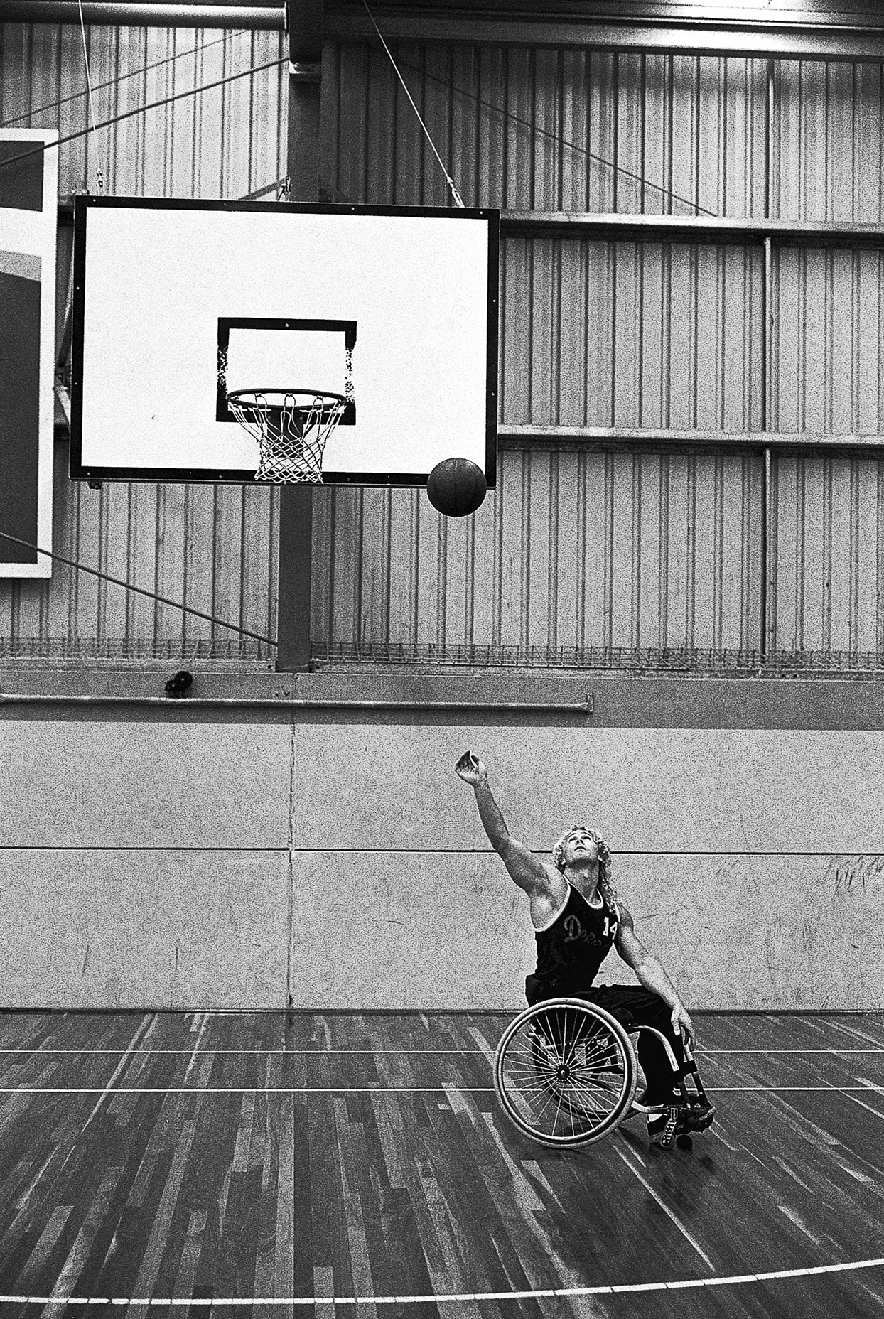 1195 Basketball train-on squad for Atlanta Paralympic Games 1996