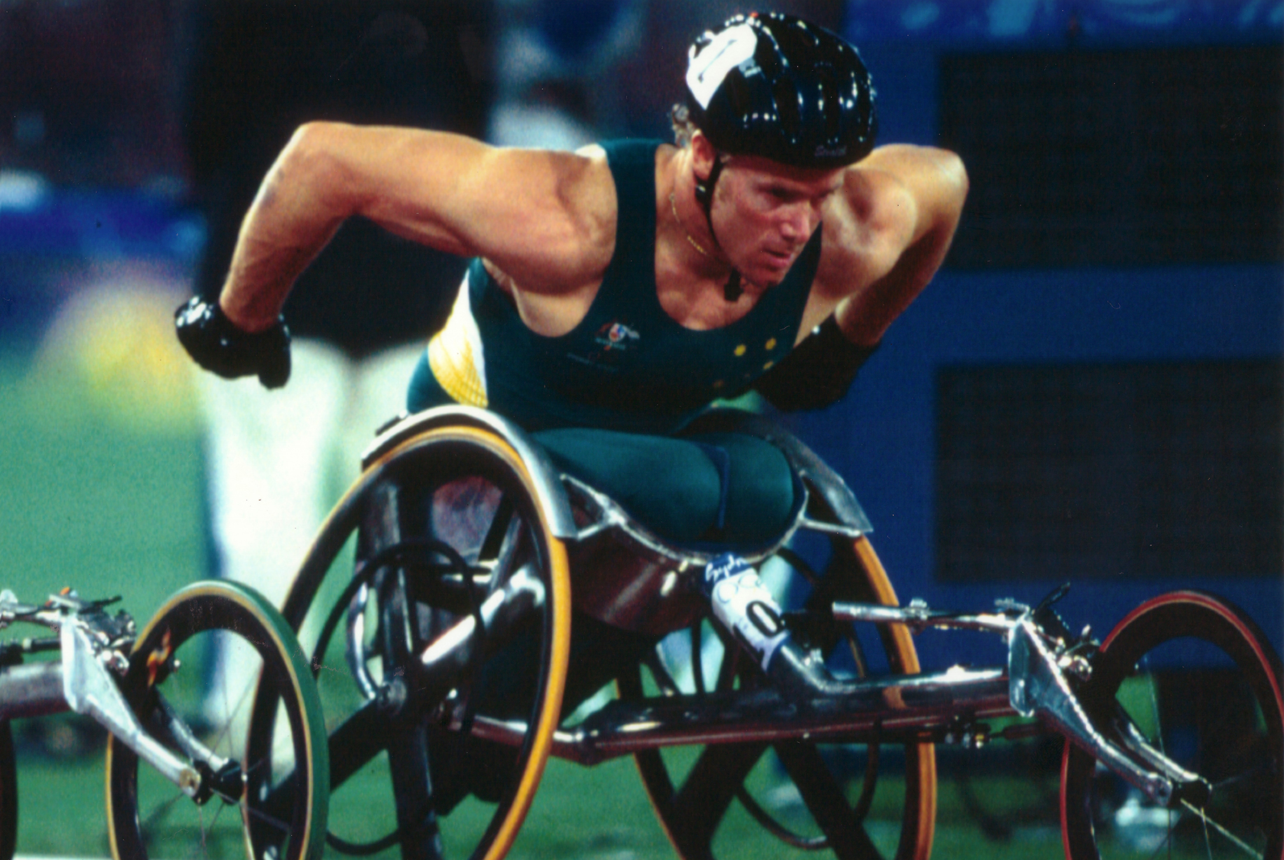 Sydney 2000 Olympic Games - wheelchair racing demonstration event