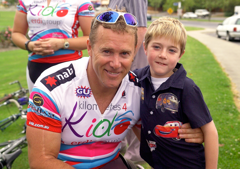 Kilometers For Kids 2002 – raised $400,000 to launch John Maclean Foundation nationally