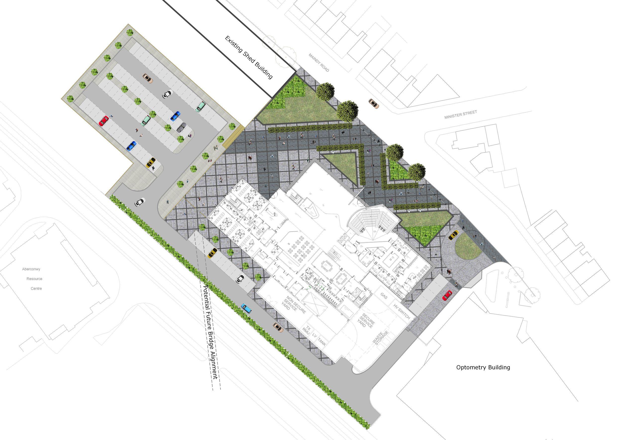 Gateway Landscaping with Matreials.JPG