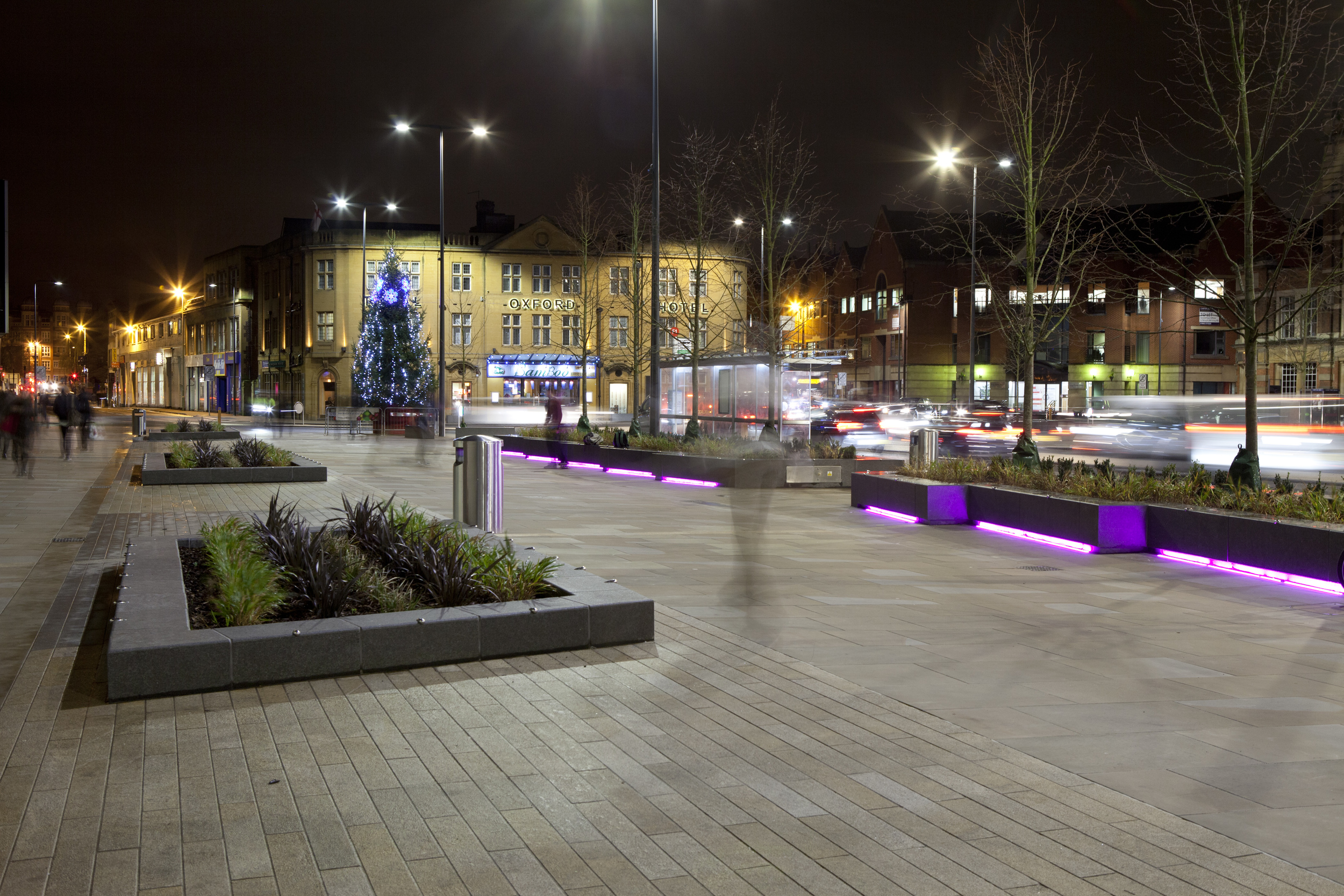 Frideswide Square, Oxford (December 2015)