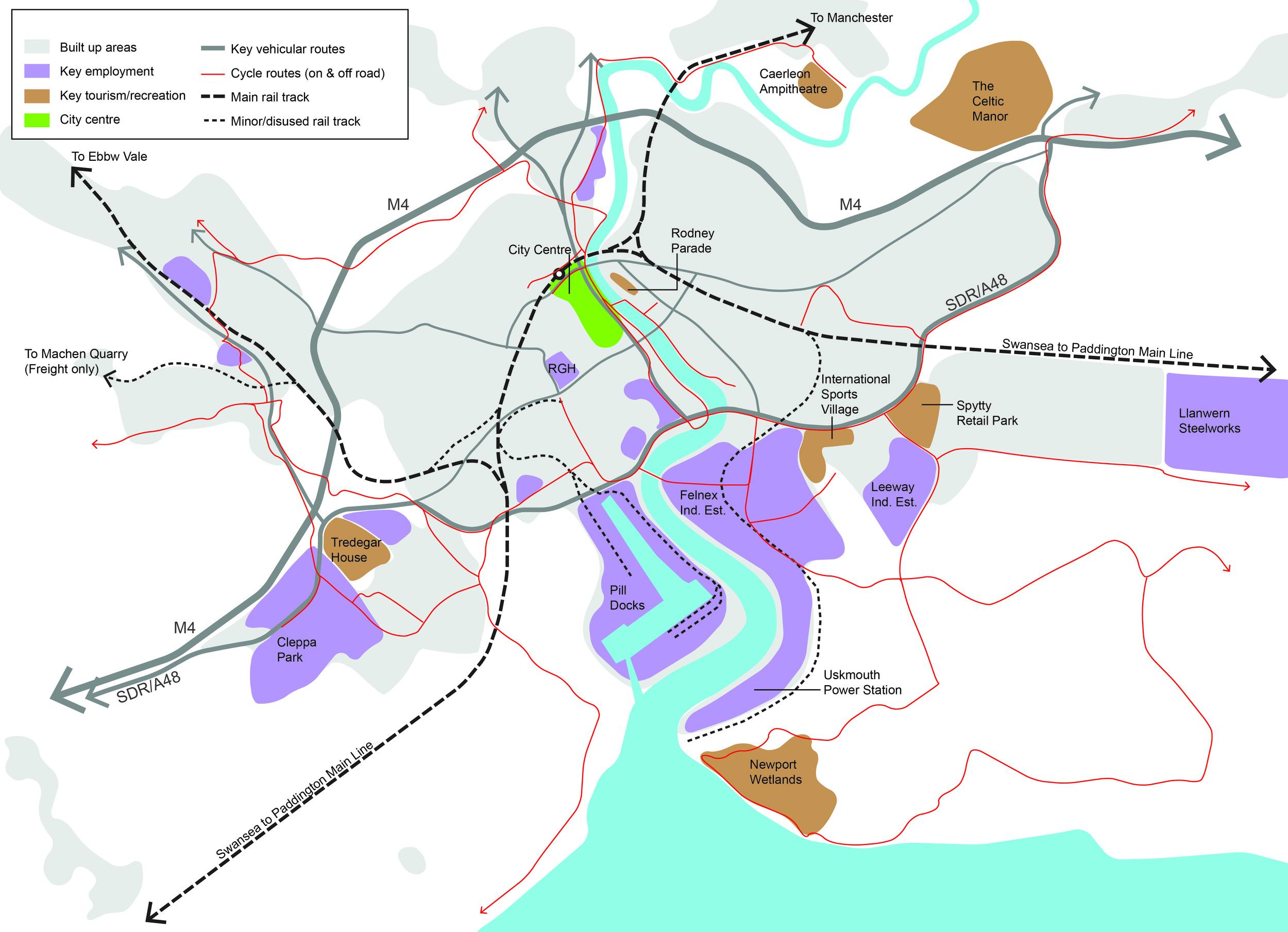 Newport Metro overview