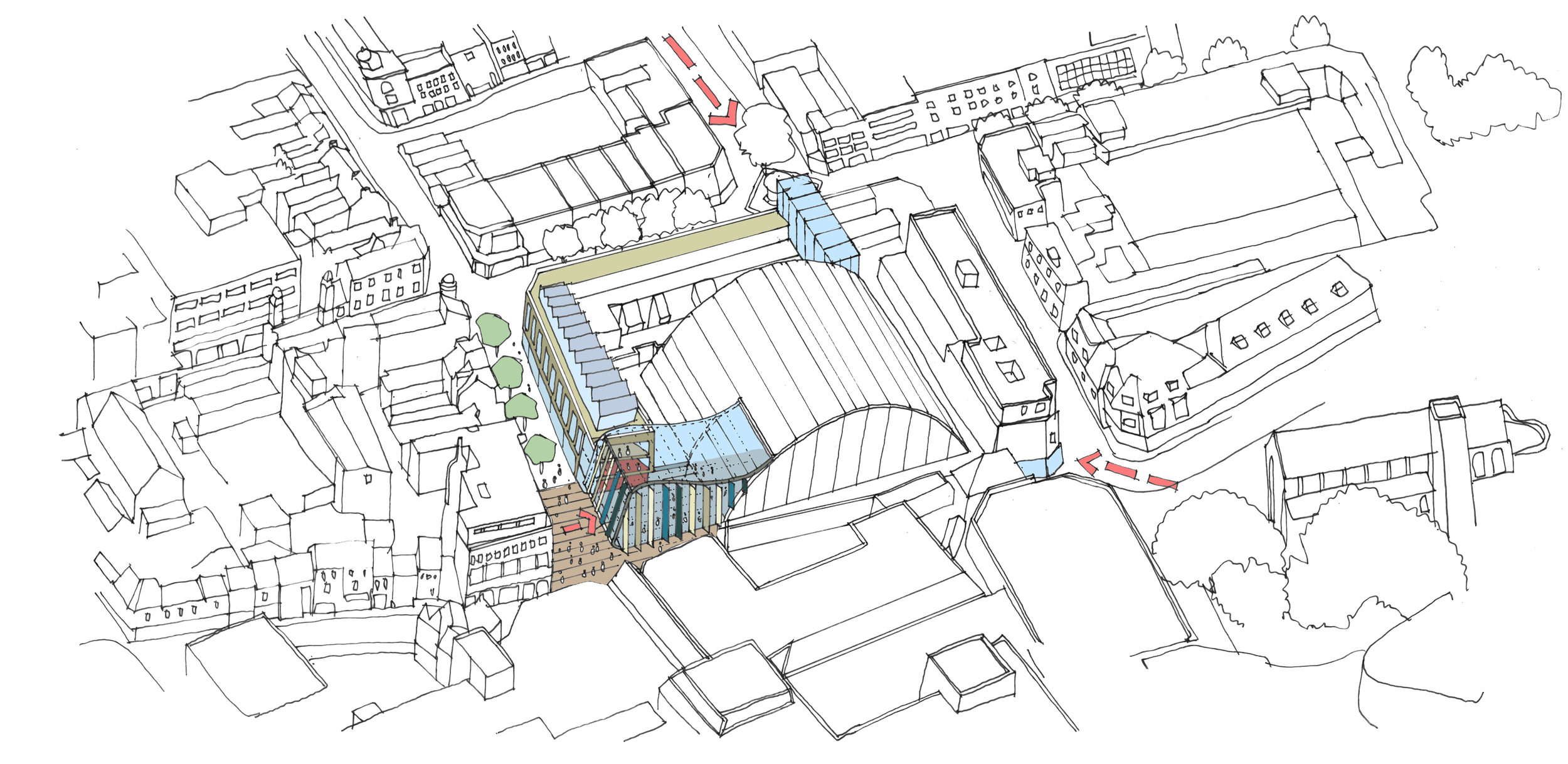 Vision for a new community on a former brownfield site