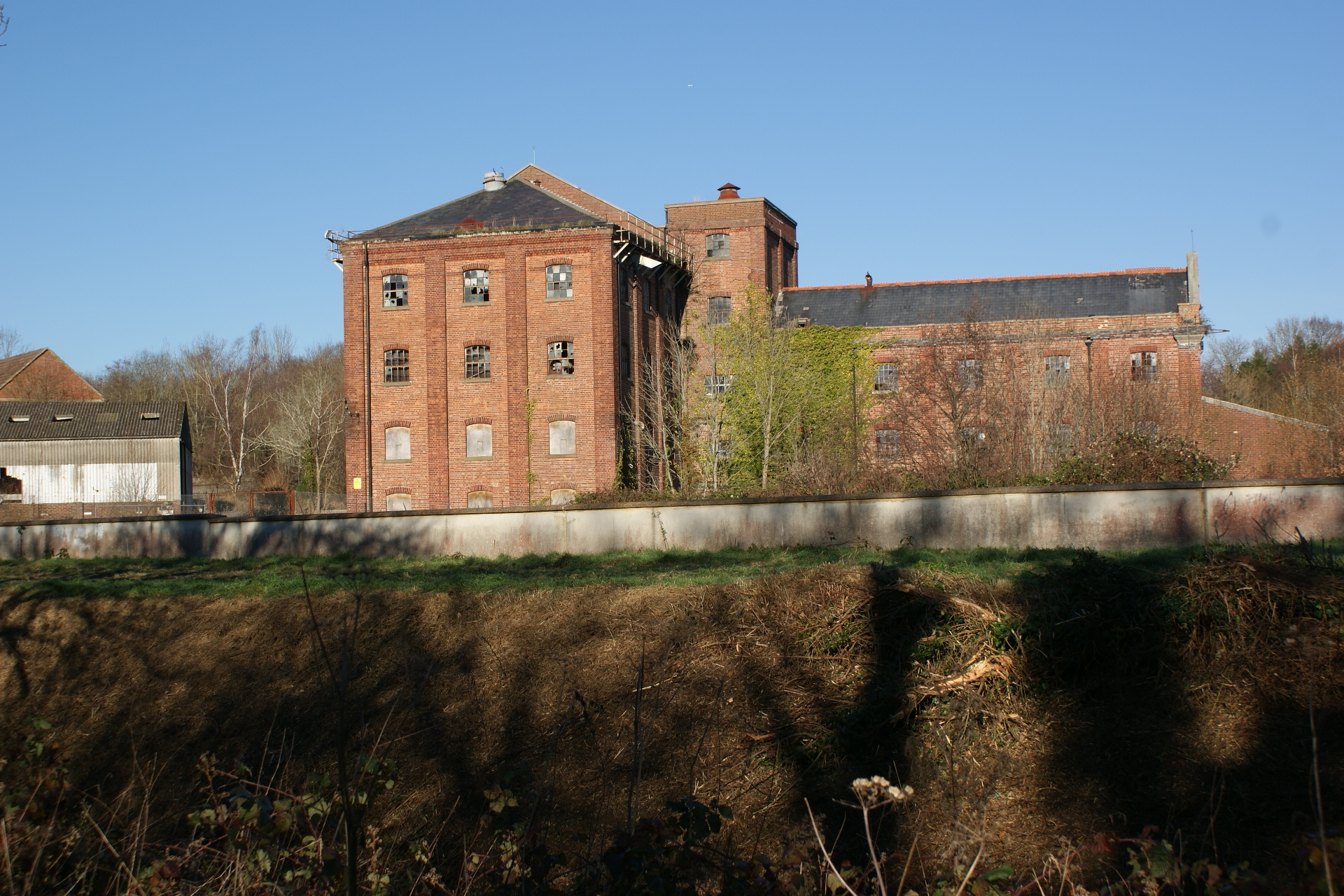 The former Hodsons Mill