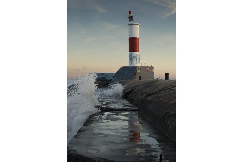 Waukegan Beach Lighthouse